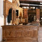 Side of custom ranch bar
