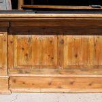 Wooden panels for custom ranch bar