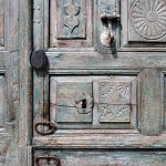 Dutch door detail