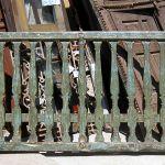 Antique railing
