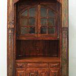 Built-in living room bar cabinet