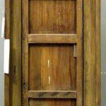 Back of antique Mexican door