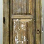 Antique Mexican door made into interior door