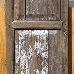 Antique Mexican door used to make closet door