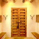 Antique Mexican doors and matching shutters