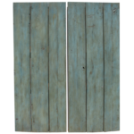 Pair of decorative shutters