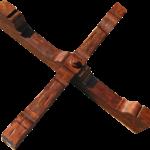 Heavy timber cross beams