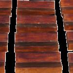 Carved wooden magnum cradles