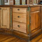 Cabinets with inlaid carving