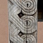 Detail of antique carved beam