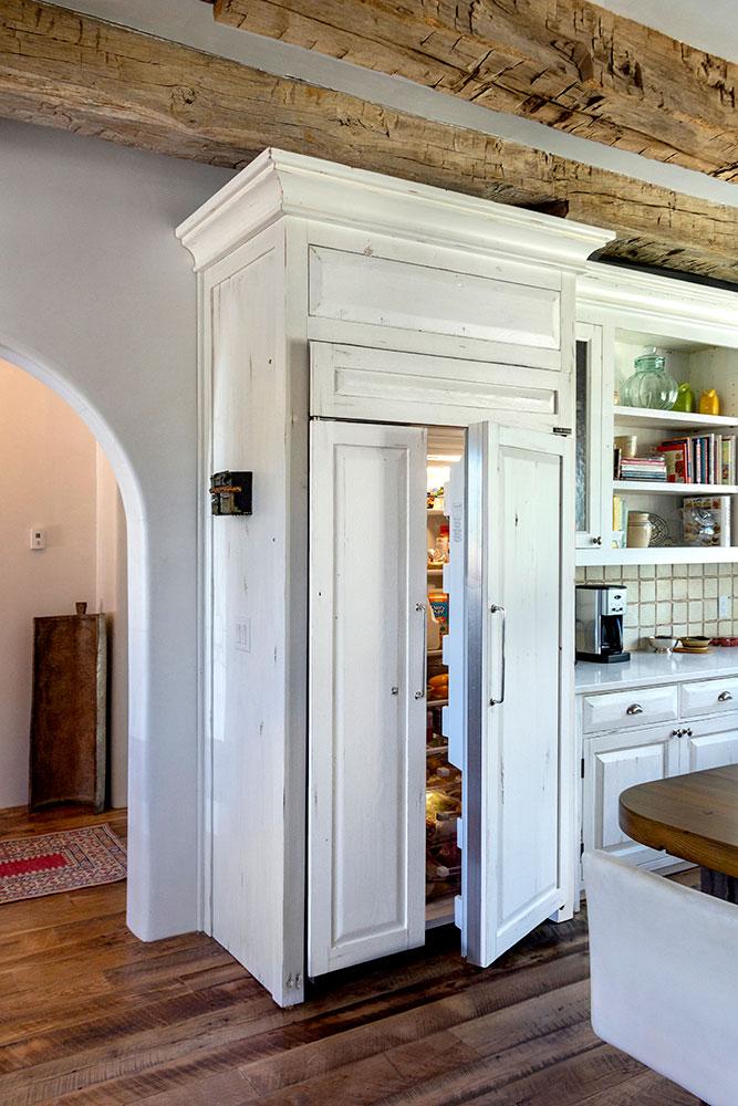 wood refrigerator panels
